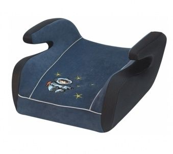 Kindersitzerhöhung Allexo Nautic blau geeignet für Kinder mit 15-36 kg