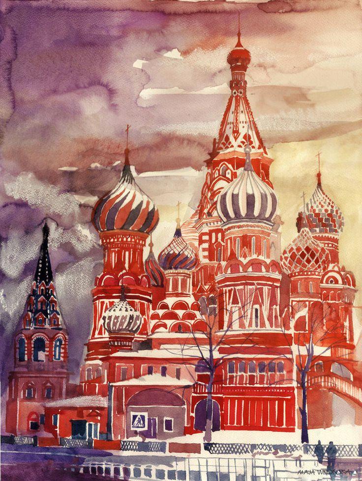 Maja met l'aquarelle à l'honneur en réalisant de magnifiques peintures de…