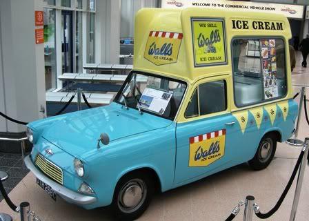 The first ice cream van of my childhood