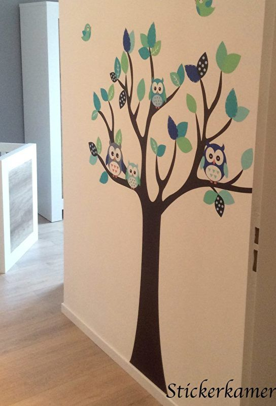182 best muursticker kinderkamer inrichting images on pinterest, Deco ideeën