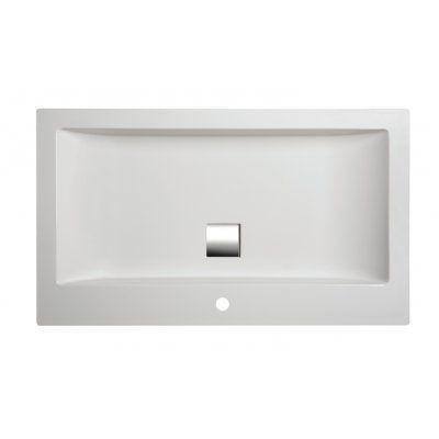 Umywalka prostokątna 60 x 47 cm Unbo-M/Space Sanplast Space Mineral 640-290-1300-01-000