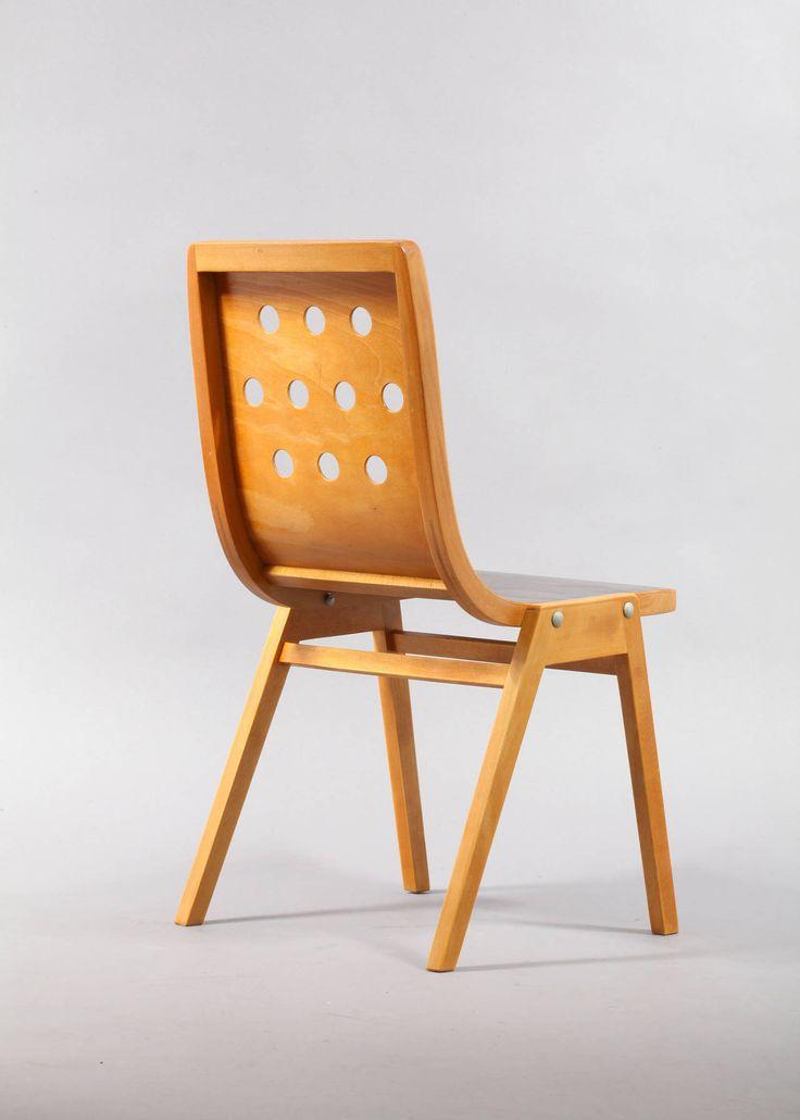 set of 12 roland rainer stacking chairs vienna