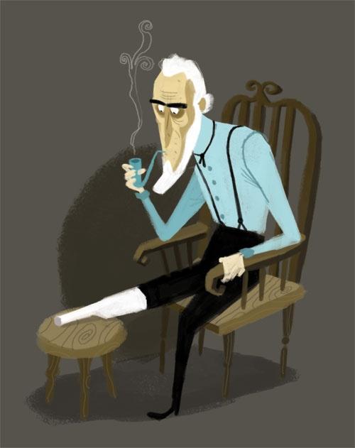 Ahab | Illustrator: Matthew Cruickshank - crookiesblog.blog...