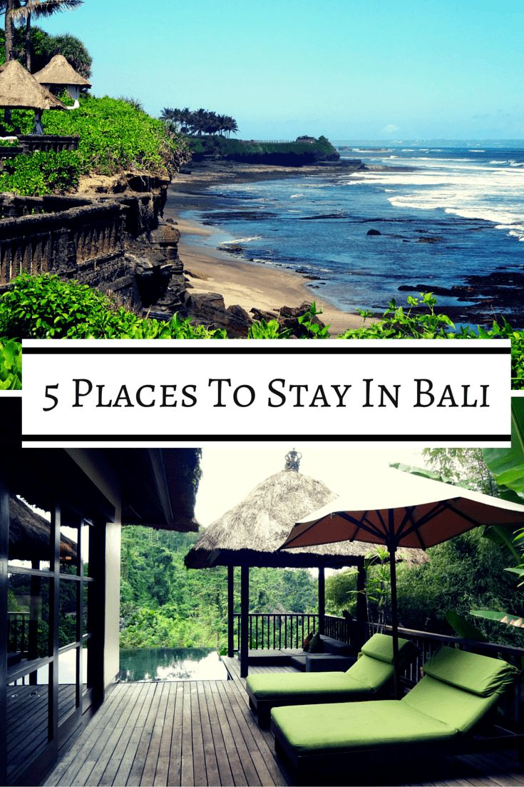 If you're planning a trip to Bali, we've got you covered. These are the best places to stay in Bali, located all around the island and ranging in price from about $30 to $500. via @BuddyTTMonkey