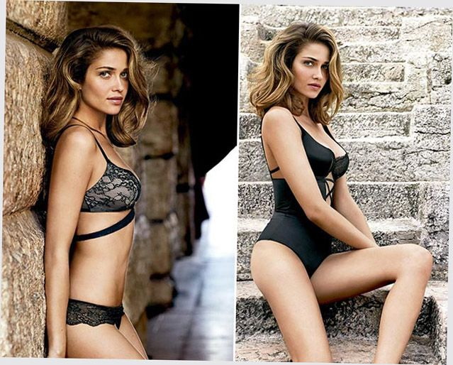 Intimissimi winter lingerie collection: winter tale
