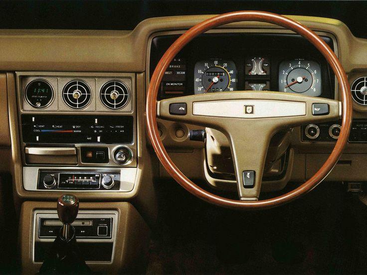1977 Toyota Chaser Car Interiors Pinterest Toyota