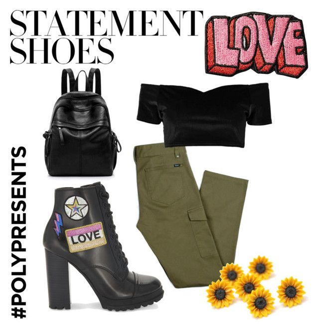 """""""#PolyPresents: Statement Shoes"""" by maddy-s8674 on Polyvore featuring ALDO, Boohoo, Stoney Clover Lane, contestentry and polyPresents"""