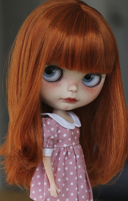 blythe doll freckles <3