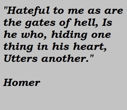 Homer Greek Poet Quotes | Homer Quotes