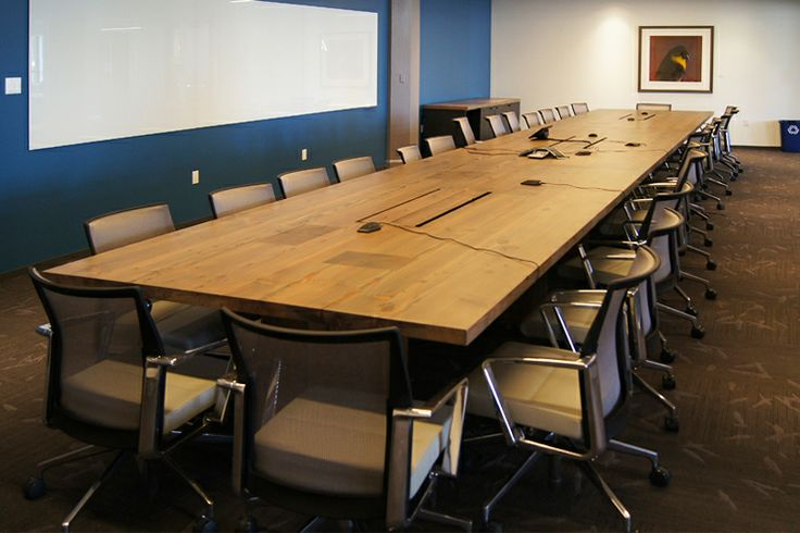Monterey Cypress Live Edge Table | Northwood Design Partners #office # Furniture #design #workplace | NDP Conferencing | Pinterest | Monterey  Cypress, ...