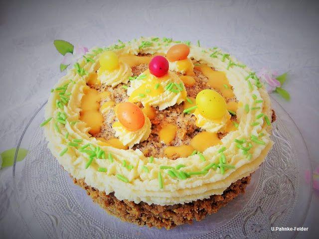 Jahreszeit: Haselnuss-Makronen Torte
