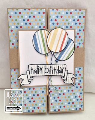 April new release from The Alley Way Stamps~ Wish BIG Box card