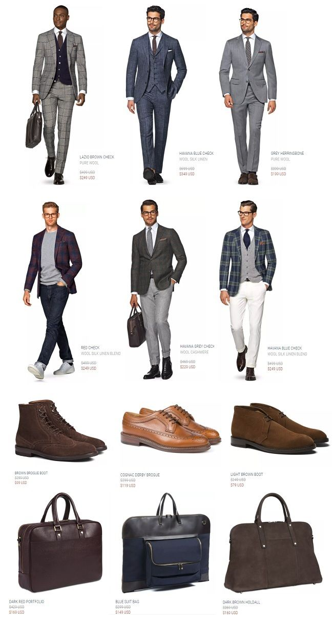 The Suitsupply Online Outlet is Back!  FINALSALE=Access to Suitsupplys Reopened Online Outlet  WARNING: All sales are final here.No returns or exchanges (just in case the code didnt clue you in.) But this is stillkind of a big deal. For a few years the outlet was no more. Now? It opens once or twice a year (for a winter and summer clearance). And it just relaunched offering last season suits jackets shoes and more at a fraction of the regular asking price.  But again all sales are final. And…