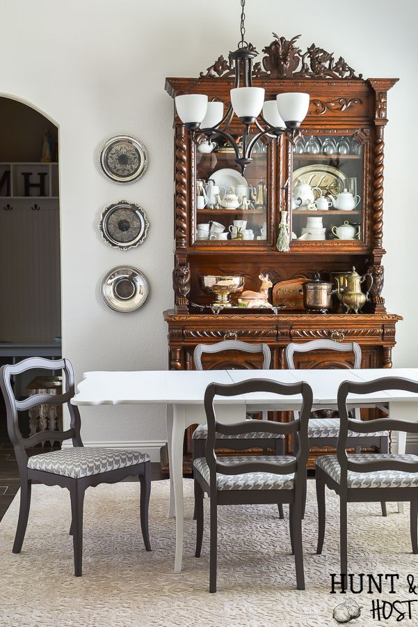 Cheap Drop Leaf Table Makeover Home Decor Dining Room Table