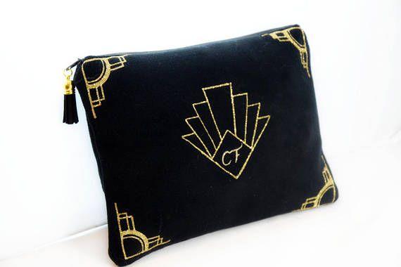 2ea841ecd1 Trousse de maquillage Personnalisé VELOURS/ Pochette Graphique   for phone  & laptop   Bags, Laptop et Fashion