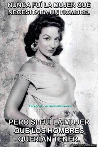 Asi Es......María  Félix.