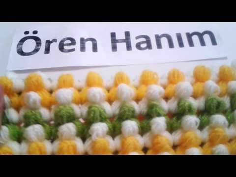 How to crochet the 4th clue to DROPS Mystery blanket Spring Lane - YouTube