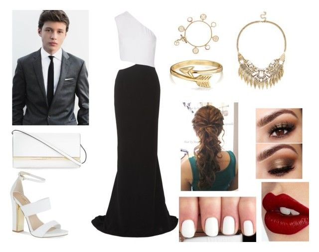 """Red Carpet with Nick Robinson"" by perfectidea ❤ liked on Polyvore featuring STELLA McCARTNEY, Carvela, MICHAEL Michael Kors, Charlotte Tilbury, Bling Jewelry, Sole Society and Tory Burch"