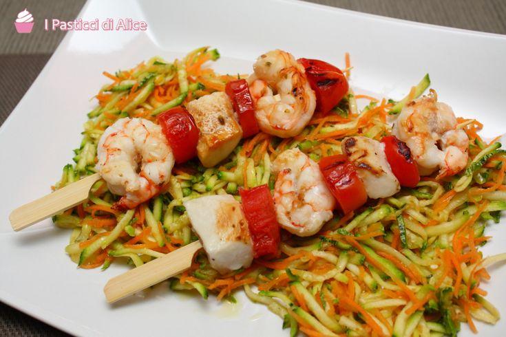 Spiedini di Pesce http://blog.giallozafferano.it/pasticcidialice/spiedini-pesce/