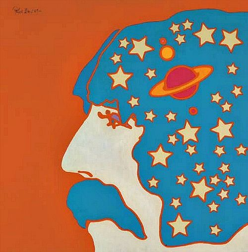 Artwork by Peter Max, 1969.
