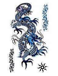 5 stuks draak waterproof tijdelijke tatoeage (17,5 cm * 10cm)