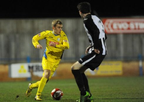 King's Lynn Town and English colleges captain Shaun Stocker. Picture: Ian Burt   #kltfc