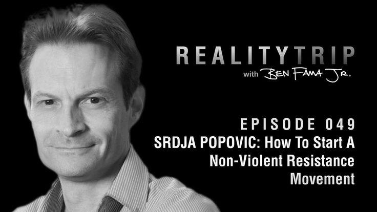 Srdja Popovic: How To Start A Non-Violent Resistance Movement   Reality ...