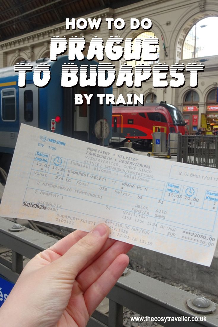 How to do Prague to Budapest by train | The Cosy Traveller