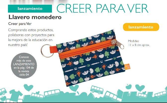 Nuevo Llavero Monedero de CPV