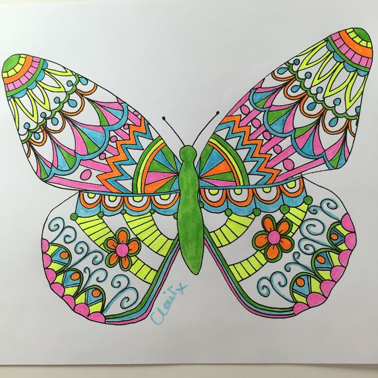 Butterfly highlighters