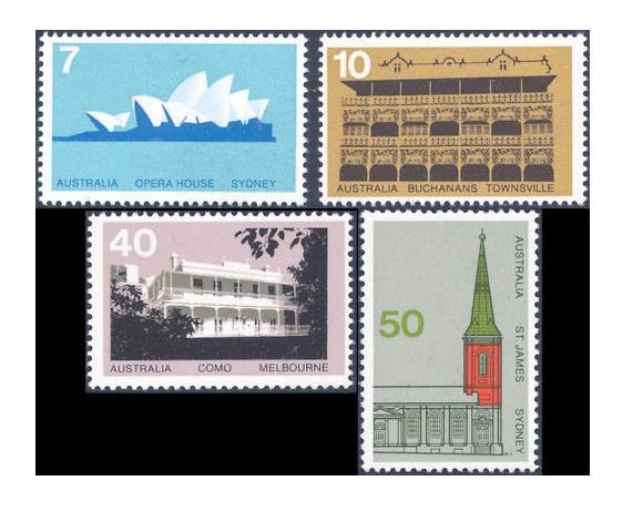 Australian Stamp Issue, 1973