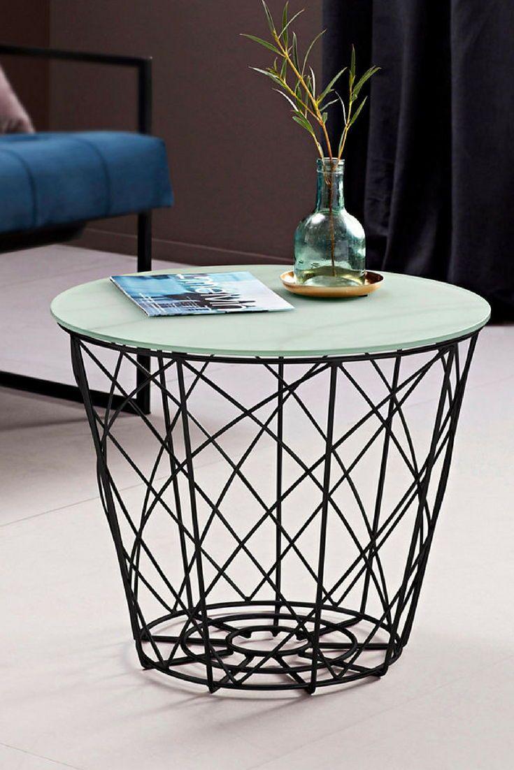 Places Of Style Beistelltisch Rund In Marmoroptik Das Wohnzimmer Ist Der Wichtigste Raum Einer Wohnung Eben Beistelltische Wohnzimmertische Couchtisch Marmor