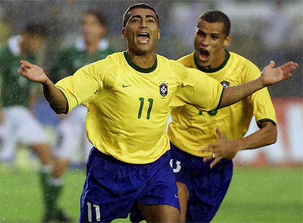 Romário and Rivaldo