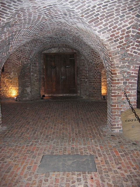 Old Exchange and Provost Dungeon. Charleston, SC