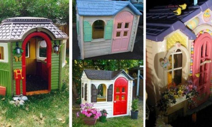 Les 25 meilleures id es de la cat gorie little tikes - Maison de jardin little tikes colombes ...
