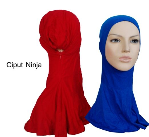 CIPUT NINJA ZIPPER Versi ciput ninja memakai sleting yang kualitas terbaik bahannya lembut dan menyerap eringat, tidak panas saat digunakan.  Harga Grosir 120rbu/3pcs  Order via sms/whatsapp 081323565991 BBM 294E3A31