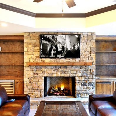 Build your own ventless fireplace woodworking projects for Design your own fireplace