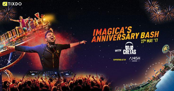 Enjoy the night at India's favourite Amusement Park with #djchetas #imagica #adlabs #fun #entertainmemt