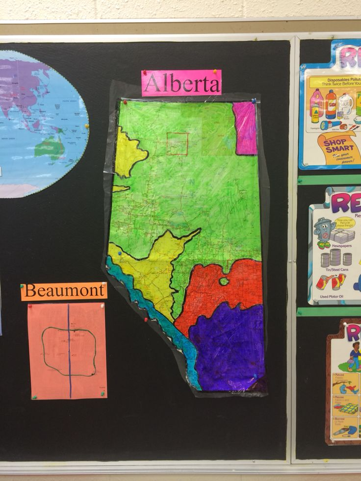 Regions of Alberta transparency over our classroom