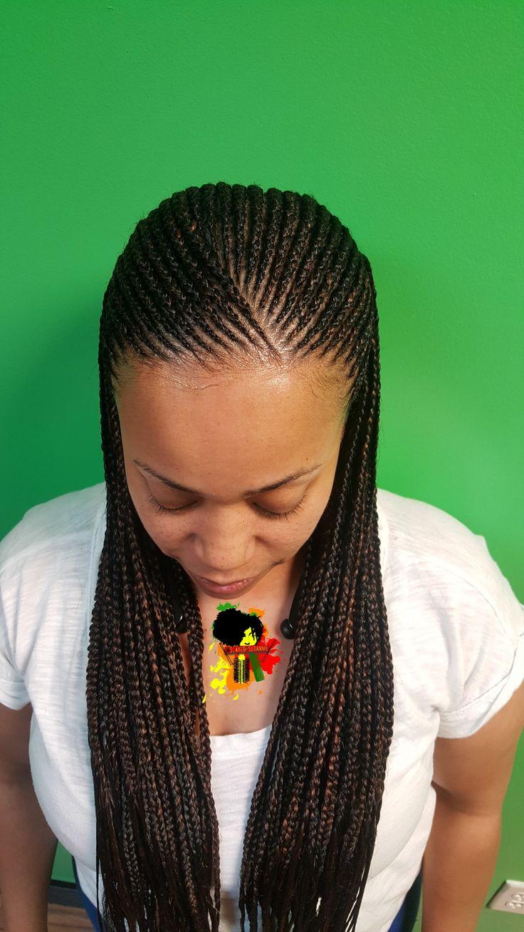 small feedin braids