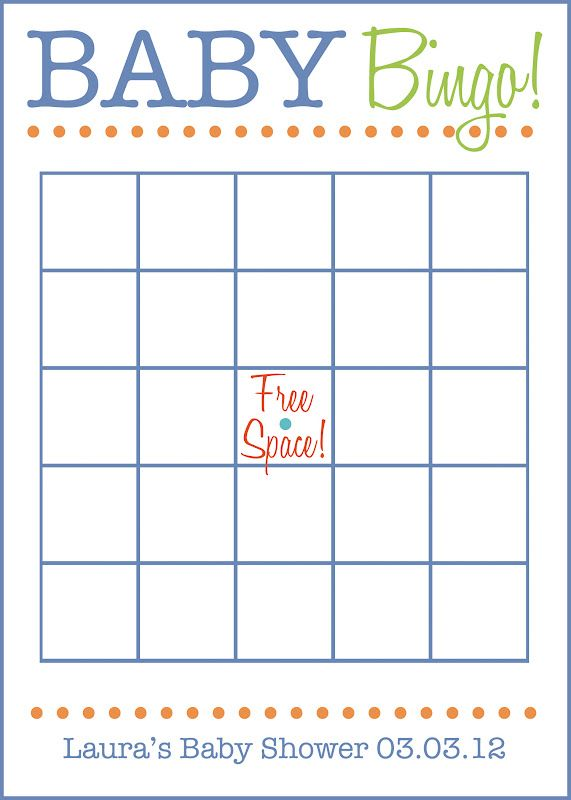 25 best images about Blank Bingo Cards – Guest Check Template
