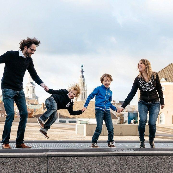 spontane gezinsfotoshoot, Breda