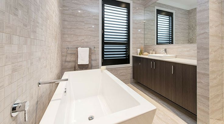 This large bathroom just invites you to relax. #bathroom