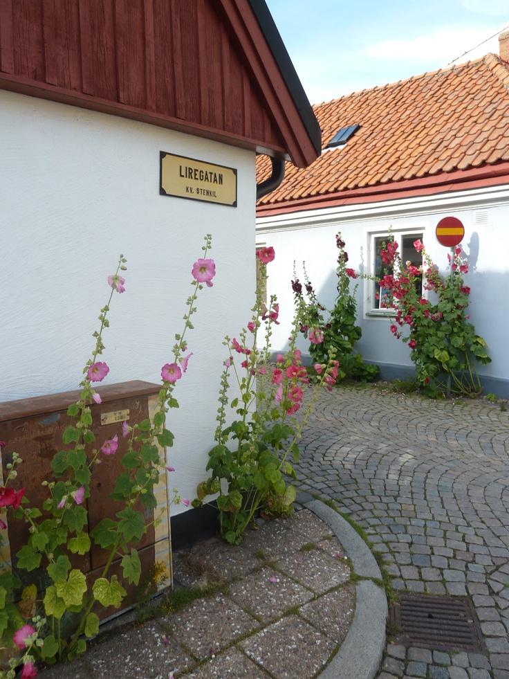 An idyllic little town. Ystad, Sweden.