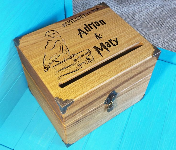 Excited To Share The Latest Addition My Etsy Card Box Harry Potter Wedding Gift