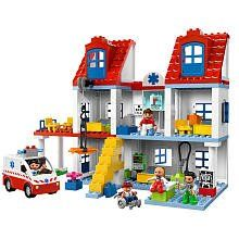 LEGO Duplo Set #5795 Big City Hospital by LEGO. $109.99. Ages: 2-5. LEGO Duplo Big City Hospital 5795. Pieces: 111. bMake everyone better at the Big City Hospital!/bIts always busy at the Big City Hospital! Lend a hand by helping the doctors and nurses make everyone feel better! The ambulance is always arriving with new patients. Use the stretcher to carry them in, then make them all better in the examination room with the Xray machine, wheelchair, stethoscope, medicine an...