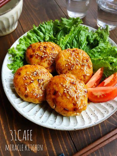 ♡水切り不要de超簡単♡お豆腐つくねの甘酢照り焼き♡【#鶏ひき肉#時短 ...