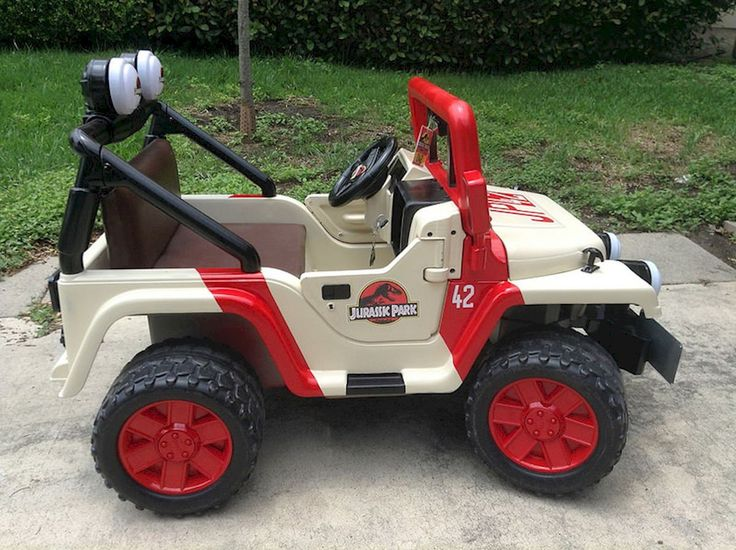 Countdown to Jurassic World: Power Wheels Jeep modified into a Jurassic Park Jeep – RPF Pulse