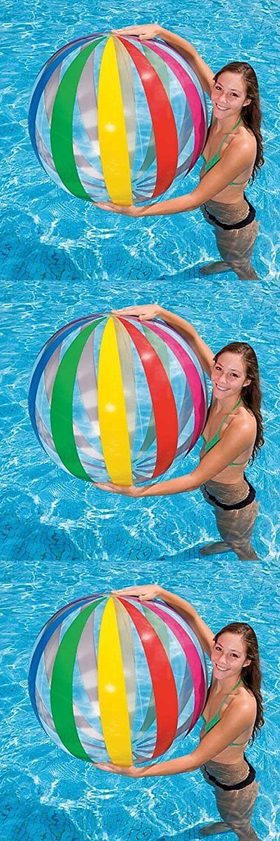 Balls and Balloons 145987: Kids Swimming Pool Aqua Fun Toys Childrens Inflatable Jumbo Beach Ball 1070Mm -> BUY IT NOW ONLY: $68.04 on eBay!
