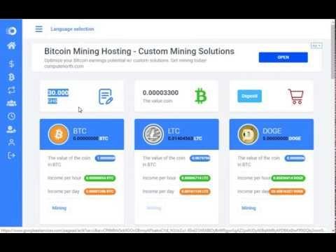 bitcoin auto mining free legit)